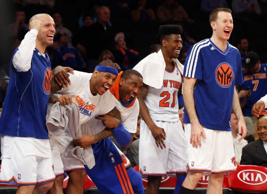 Knicks_bench